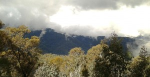 Western Fall of Main Range of the Snowy Mountains.