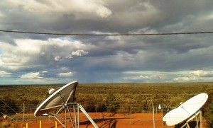 The country through which we travelled as we approached Cobar.