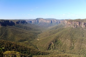 View from Govetts Leap Lookout