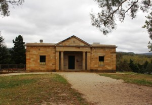 The Court House at the Hartley Historic Village