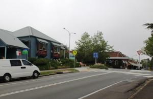 Bottom of Leura Mall