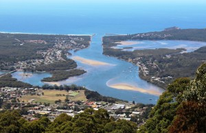 The Camden Haven Estuary from North Brother Lookout