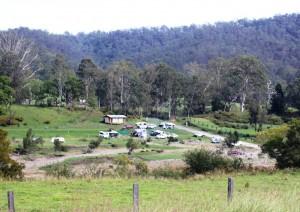 Campers at Buccarumbi Bridge