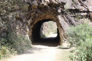 The tunnel from the other side