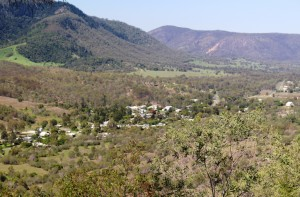 Mount Perry from lookout