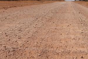 Plenty Highway Corrugations. There were plenty of them.