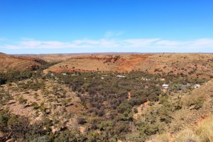 Ormiston Pound from the Ghost Gum Lookout