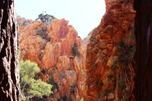More of the rocks behind the main chasm