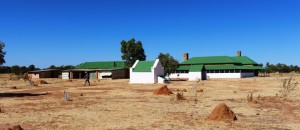 The old Tennant Creek Telegraph Station. The history of the Center is so involved with the Overland telegraph Line that reminders are everywhere