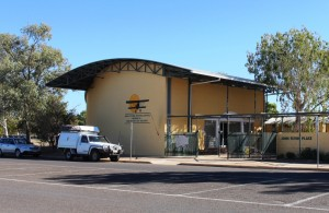 The John Flynn Memorial Museum in Cloncurry