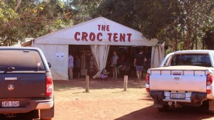 The Crock Tent has a large stock of surineers