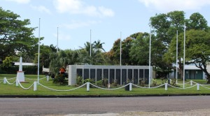 The Thursday Island War Memorial