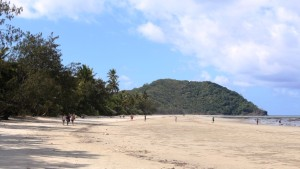 Myall Beach is immediately south of Cape Tribulation