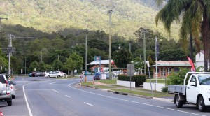 Part of Canungra's main street