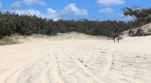 Soft sand approaches to Indian Head bypass