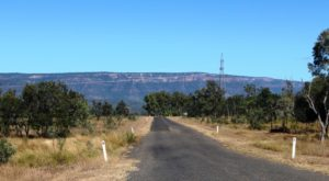 The view approaching Blackdown Tableland