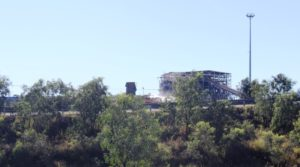 Peak Downs Mine coal washing plant