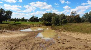 The Barcoo River at Blackall