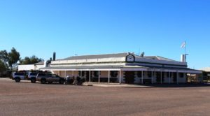 The Birdsville Hotel. It has stood for over a century