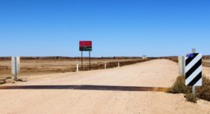 The Birdsville Track reaches south into South Australia