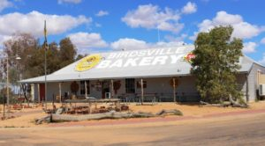 Birdsville Bakery, home of the curried camel pie