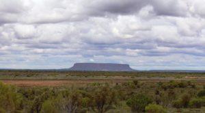 Mount Conner near Curtain Springs is often mistaken for Uluru