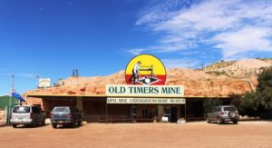 The Old Timers Mine entrance