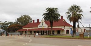 The Quorn Railway Station serviced the Ghan and is now the end of the Pichi Richi line.