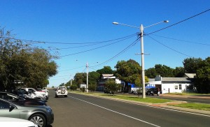 Mitchell main street looking west