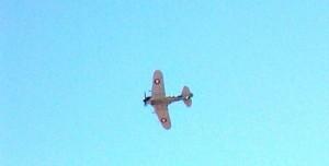 CA-13 Boomerang in flight
