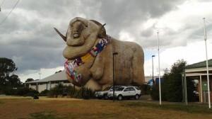 The Big Ram at Goulburn