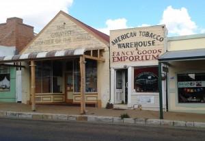 Modern business in old buildings