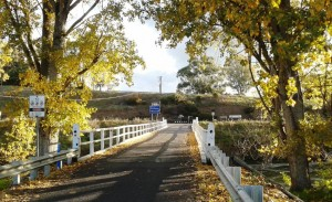 Entry to Victoria at Towong