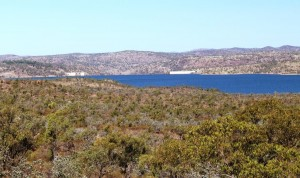 The body of water is known as Lake Dalrymple