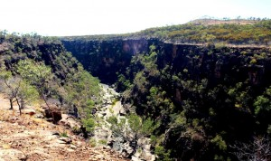 Gorge at the lookout