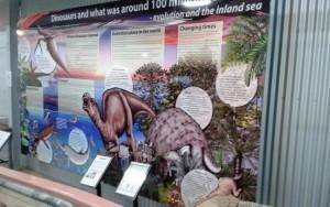 Part of the display at Hughenden