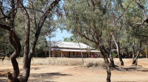 Nindigully Pub - well over 100 years old