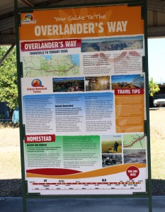 Local councils put a great deal of effort into informative roadside material