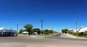 The main street of Richmond