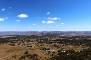 Hartley Vale from Mt York Lookout.