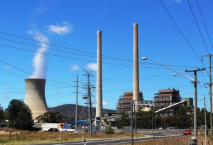 Wallerang Power Station is powered by local coal.