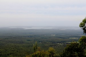 The view from Heaton's Lookout