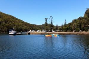 Pleasure boats at Bobbin Head.