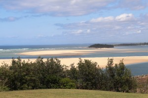 Manning River mouth and Manning Point