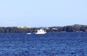 A house boat off Mungo.