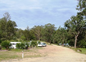 Campers at the Mann River Nature Reserve