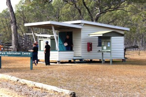 The Information Center at the Ranger Station