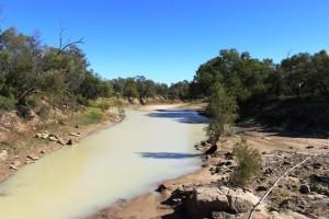 A waterhole in the Georgia River
