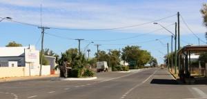 Part of the main street of Julia Creek