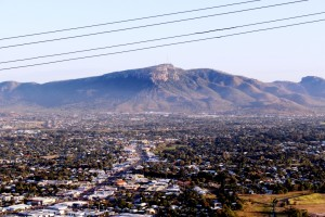 Laravack Barracks covers a large area at the foot of Townsville's Mount Stuart.